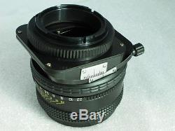 Tilt Shift Photex (Arsat) MC 2.8/80 mm Tilt-Shift Nikon Camera body Lens NEW