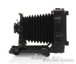 Toyo 45CF 45 CF Carbon Fiber Field 4x5 View Camera & 150mm Sironar Lens (9114-2)