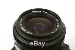 Used Mamiya 645 AFD Medium Format Camera 55mm F/2.8 Lens & Polaroid Back + FILM