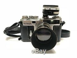 Very Good Nikon SP Rangefinder Camera with 50mm f/1.4 Lens & awesome Accessories
