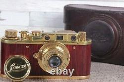 Vintage Film Leica camera rangefinder Lens Elmar f3.5/50mm (Zorki Copy)