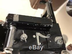 Vintage Graflex Speed Graphic Camera Kit withCase Kodak No. 1 Supermatic Lens