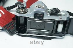 Vintage Japanese Pentax ME Super 35mm SLR Film Camera + 50mm & 85-210mm lenses
