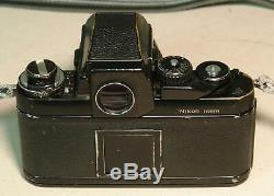 Vintage Nikon F3 35mm SLR Film Camera with Nikkor 35mm f/2.8 Lens
