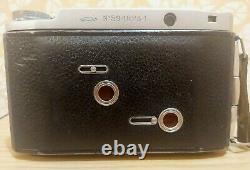 Vintage USSR Camera Moskva-5 6x6cm 6x9cm Lens INDUSTAR-24 Red P f3.5/105mm