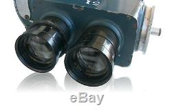 Vinten 35mm Hand Cranked Movie Camera Dallmeyer Dalmac Lenses Parvo Mitchell