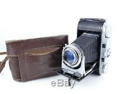 Voigtlander Bessa II 120 Film 6x9 Folding Rangefinder Camera Heliar F3.5 Lens