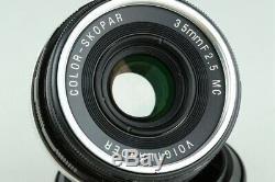 Voigtlander Bessa R 35mm Rangefinder Film Camera + 35mm F/2.5 Lens #23710 D5