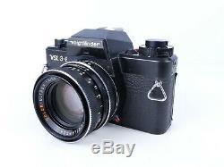 Voigtlander Vsl3-e 35mm Film Manual Slr Camera + 50mm F1.8 Ultron Lens Boxed