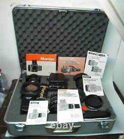Wonderful Just Beautiful Set of Mamiya RZ67 Pro II Lenses & Accessories -yrRR