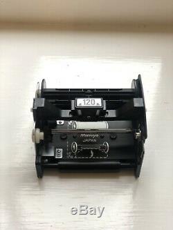 Working Mamiya 645J Medium Format SLR Film Camera 150mm Lens