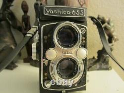 YASHICA 635 Twin lens, TLR 120/ 35mm Film Camera