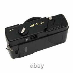 YASHICA MF-2 Super 35mm Film Camera with 38mm f/3.8 Lens by Kokoti (Black)