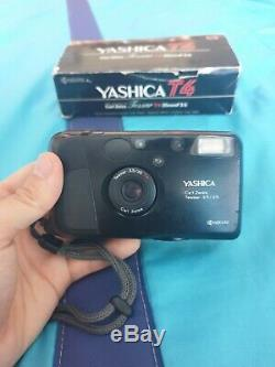 Yashica T4 with f3.5 Carl Zeiss T Lens 35mm Fully working