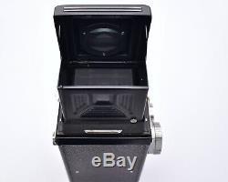 Yashica Yashicaflex TLR Film Camera Yashimar f/3.5 80mm Lens READ (#6799)