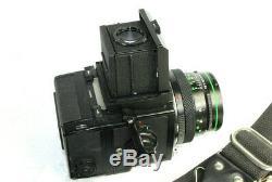 ZENZA BRONICA ETRS Classic Film Camera with ZENZANON E II 12.8 F=75mm Lens