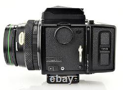 ZENZA BRONICA ETRS WLF 75mm F2.8 Lens and 120 Back
