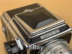 Zenith 80 Vintage Russian Soviet Hasselblad Camera with 8cm f/2.8 Lens USSR Nice