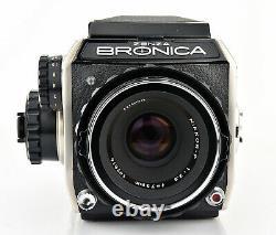 Zenza Bronica EC 6x6 Film Camera with Nikkor P 75mm 2.8 Lens Medium Format