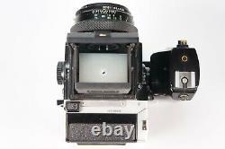 Zenza Bronica ETRS SLR-Kamera mit Zenzanon MC 75mm 12.8 Lens + Zenza Akkugriff