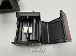 Zenza Bronica ETR Medium Format 220 SLR Camera with Zenzanon EII 75mm F2.8 Lens