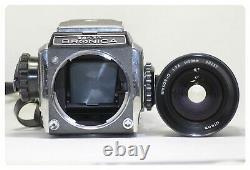 Zenza Bronica S2 Film Camera Body Nikkor O 50m F/2.8 Lens Made In Japan
