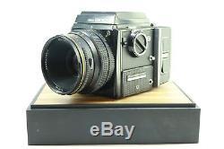 Zenza Bronica SQ 6x6 Medium Format Camera 120 Film + 80mm F2.8 Lens -BB