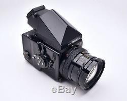 Zenza Bronica SQ-Ai 6x6 Medium Format Film Camera f/3.5 50mm Lens Grip (#5913)